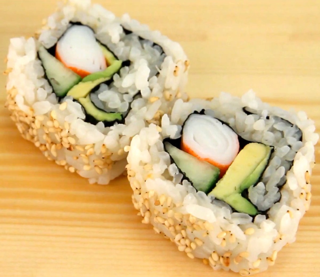 What kinds of sushi are healthy?