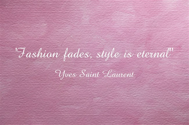 Fashion quote by Yves Saint Laurent
